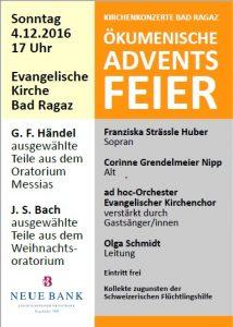 Ökumenische Adventsfeier