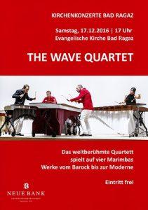 Weihnachtskonzert mit dem «Wave Quartett»