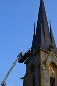 Reparatur Kirchendach