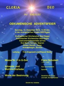 Beschwingte Zusammenarbeit – Ökumenische Adventsfeier