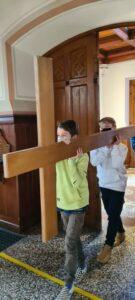Jugendliche gestalteten Passionsgottesdienst